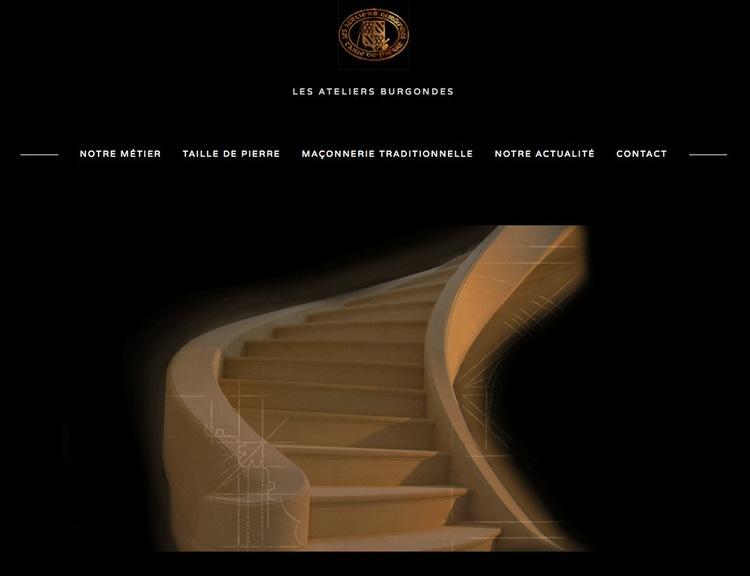 Refonte du site des Ateliers Burgondes